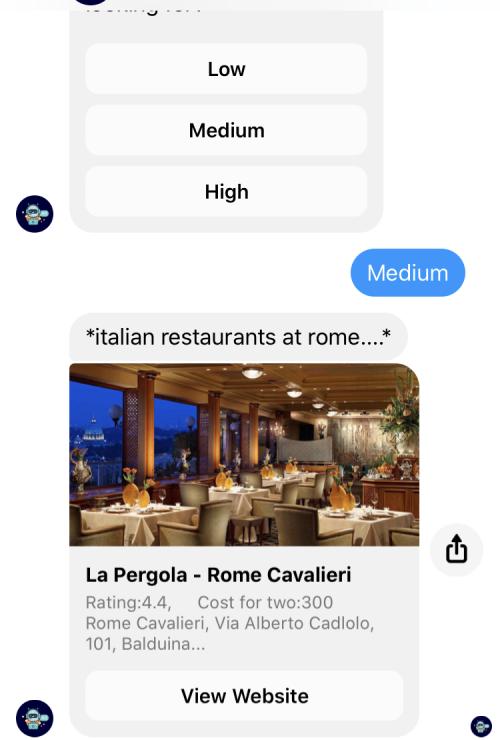 Restaurants/Cuisines